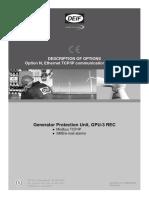Generator Protection Unit, GPU-3 REC