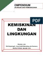 Kompendium Ketahanan Lingkungan Dan Kemiskinan