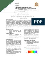 Informe de Inorganica