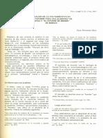 Tesis Analisis de La Voz Narrativa Gerard Genette