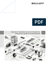 Sensor and Solutions Systems
