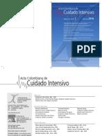 Acta Colombiana de Cuidado Critico. Abril.junio2016