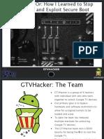 Generic GTVHacker DEFCON21