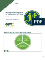 5 Montagem de Programas de Treinamento de Forca