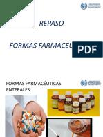 Repaso Formas Farmaceuticas Pio