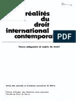 A La Recherche Du Fondement Du Caractère Obligatoire Du Dorit International