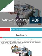 Patrimonio Cultural en el siglo XXI