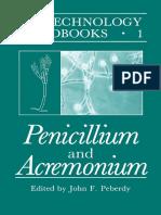 (Biotechnology Handbooks 1) John F. Peberdy (Ed.)-Penicillium and Acremonium-Springer (1987)