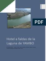 Grupo 9 Proyecto Hotel en La Laguna Yambo Avance 1