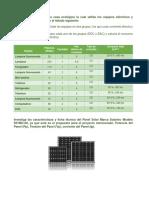 Analisis de Sistemas de Generación Eléctrica