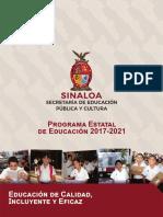 Programa Sectorial Educación