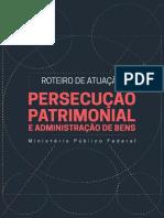 Roteiro Persecucao Patrimonial - MPF