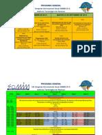 Programa General Sesiones Tecnicas SOMIM 2013