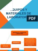 Equipos y Materiales de Laboratorio