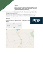 Distrito de Riego 085 La Begoña