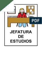 Cartel ESCUELA Ll