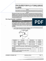 Flo-Torq Installation Manual for Mercury Flow-Torque Propeller