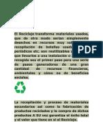 El Reciclaje Elkin