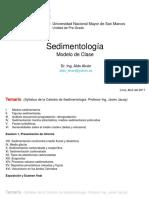 Modelo de Clase Sediment Alvan