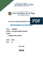 Bioquimica 1 Informe Reconocimiento de Proteinas 1 (1)