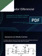 Amplificador Diferencial Complejo