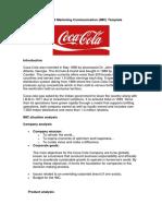 Analysis Coca Cola