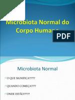 Microbiologia Aula 7 Microbiota Normal Do Corpo Humano