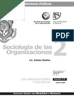 Sociologia de Las Organizaciones 2