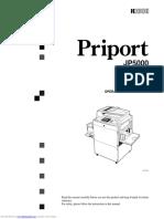 Manual JP5500 Parte 1