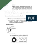 Resumen de Encoder Opticos