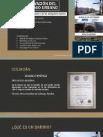 Conservación Del Patrimonio Urbano