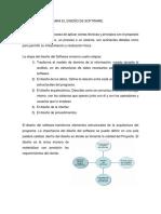 Metodologia Para El Diseño Del Software