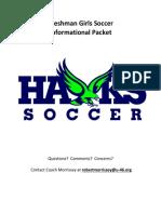 girls soccer 2018 informational packet