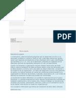 Quiz de Presaberes Desarrollo Organizacional