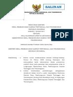 1508482120 Peraturan Menteri Desa Pembangunan Daerah Tertinggal Dan Transmigrasi Nomor 1 Tahun 2017
