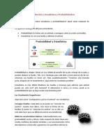 Introducción a Estadística y Probabilidades