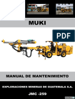 Manual de Mantenimiento Muki Jmc-259