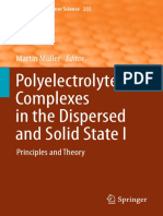 Polyelectrolyte Complexes in the Dispersed and Solid State I _Principles and Theory (1)