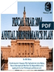 annual performance plan