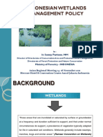 02- Indonesian Wetland Management Policy_Sonny Partono_Indonesia