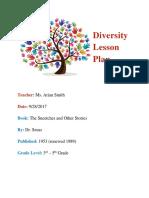 diversity lesson plan