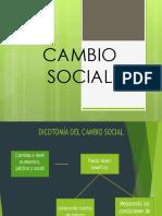 Cambio Social en El Peru y Latinoamerica