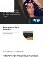 adaptive or assistive