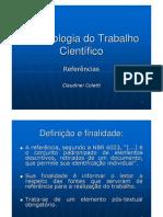 Claudinei+Coletti+-+REFER%C3%8ANCIAS+-+Metodologia+do+Trabalho+Cient%C3%ADfico