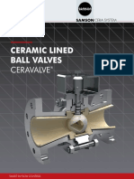 Ceravalve - Ceramic Lined Ball Valves