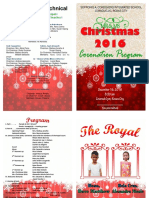 Invitation for Mr and Ms. Christmas 2016
