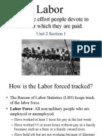 labor unit unit 2 section 1