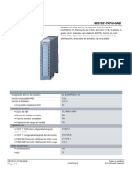 Modulo Entradas Analogicas PLC SIEMENS