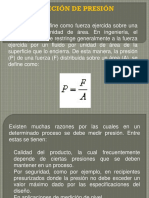 presentacion presion