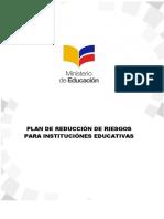 Formato Plan de Reduccion de Riesgos